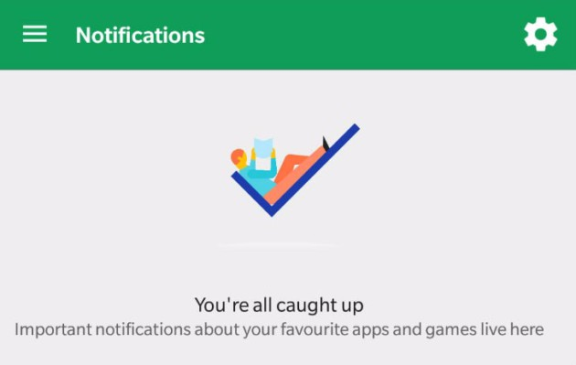 Google Play Store Notifications