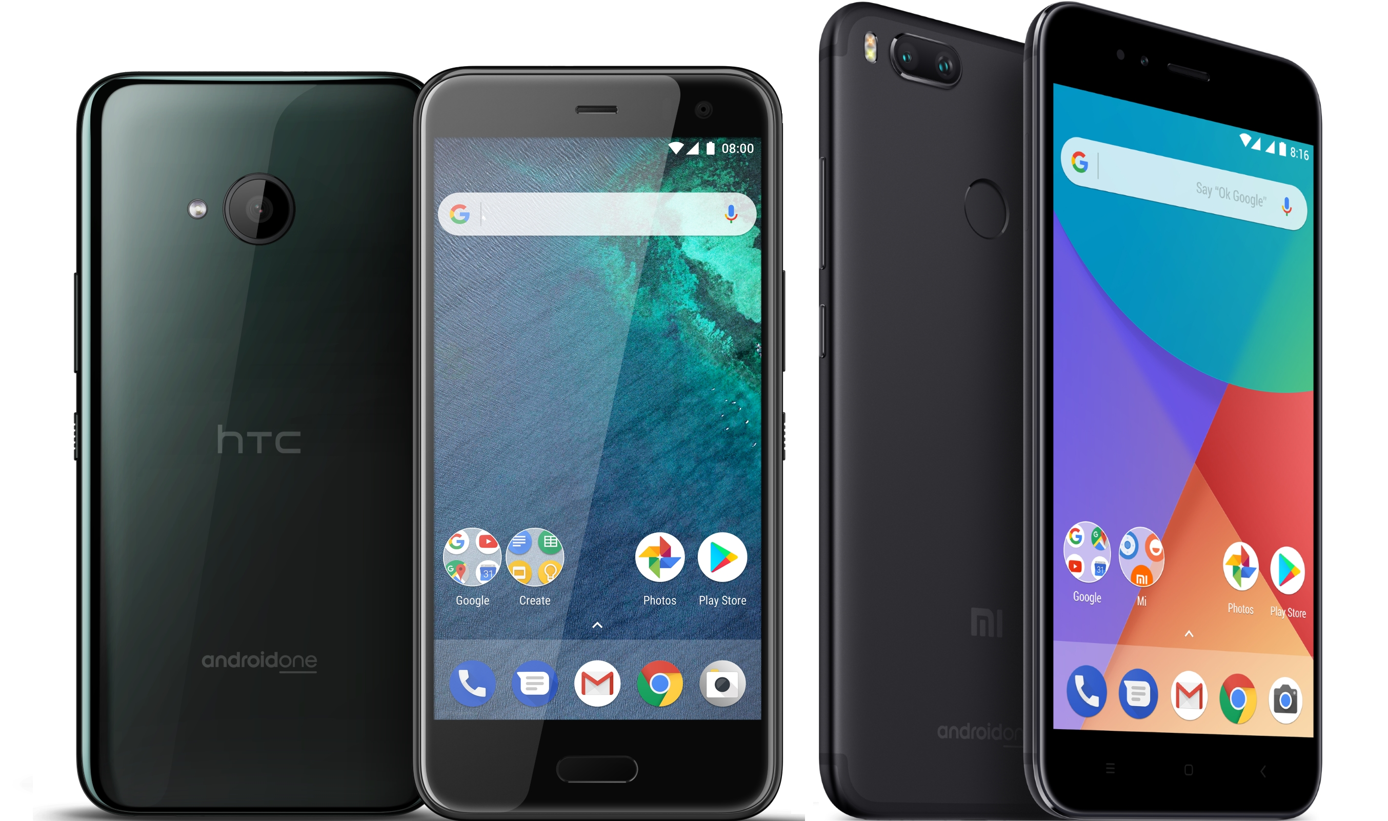 Xiaomi Mi A1 Vs Htc U11 Life Quel Est Le Smartphone