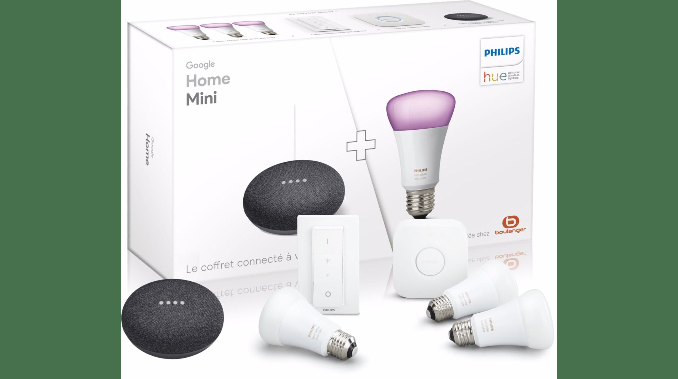 Bon Plan Plusieurs Packs Complets Google Home Avec Ampoules