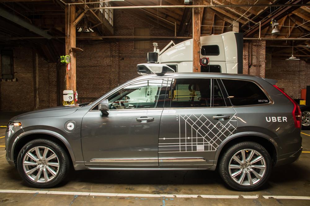 uber grosse commande chez volvo son service sans chauffeur s 39 approche frandroid. Black Bedroom Furniture Sets. Home Design Ideas
