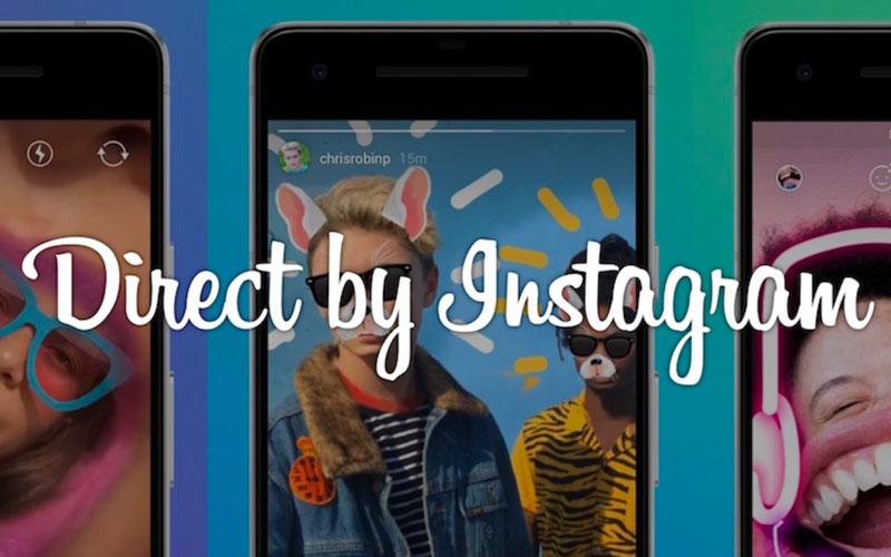 Direct, la nouvelle application de messagerie d'Instagram