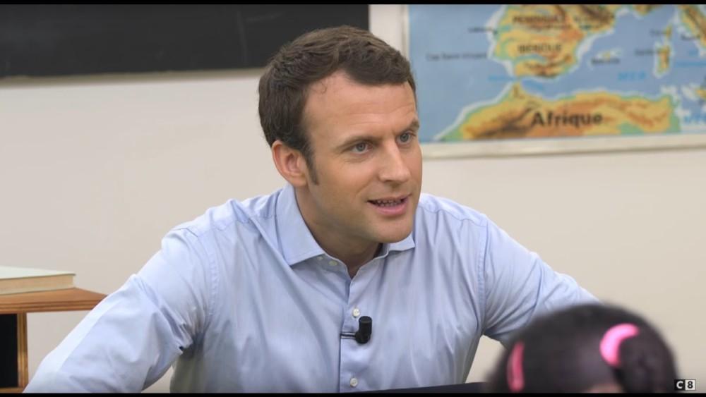 La police française demande à Google de supprimer une photo truquée d'Emmanuel Macron