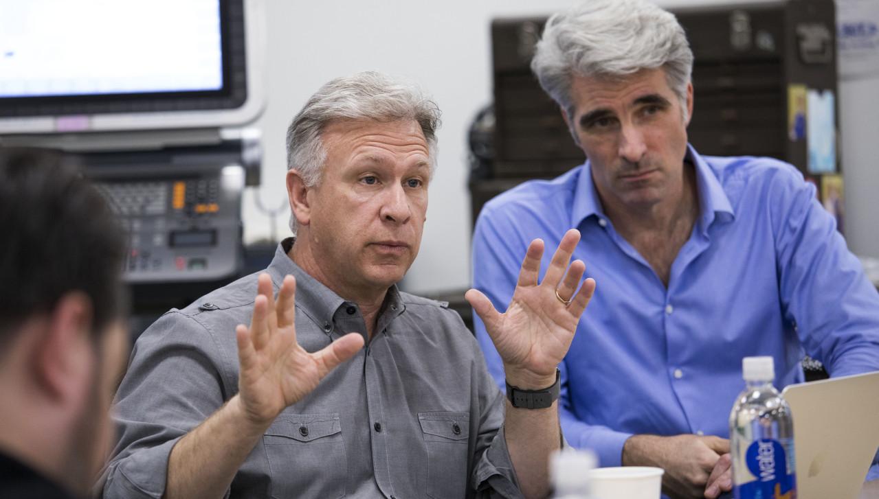 Phil Schiller et Craig Federighi