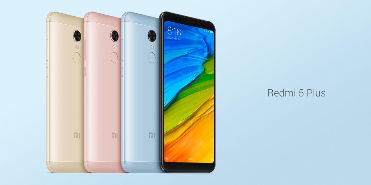 Xiaomi Redmi 5 Plus Wallpapers: Xiaomi Redmi 5 Et 5 Plus Officialisés : écrans 18:9 Et