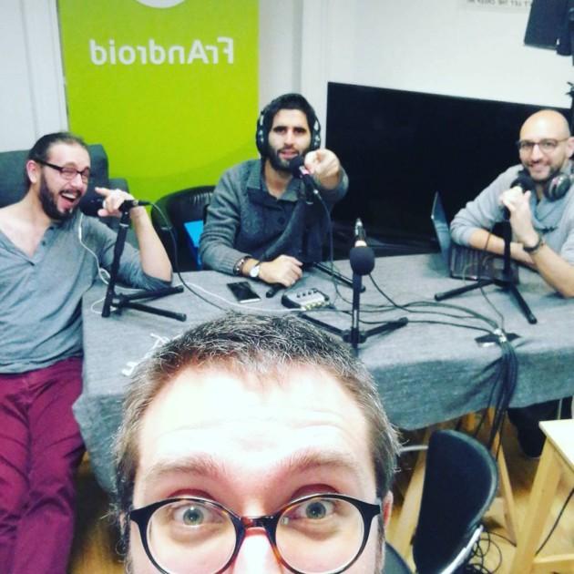 Enregistrement de notre nouveau podcast, Salut Techie!