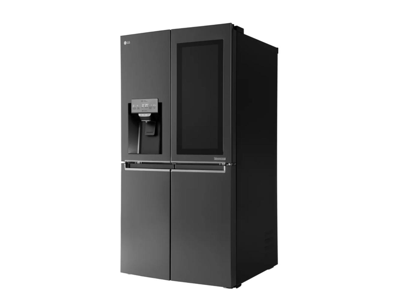 lg thinq kitchen alexa connecte votre cuisine le r frig rateur envoie des recettes votre. Black Bedroom Furniture Sets. Home Design Ideas