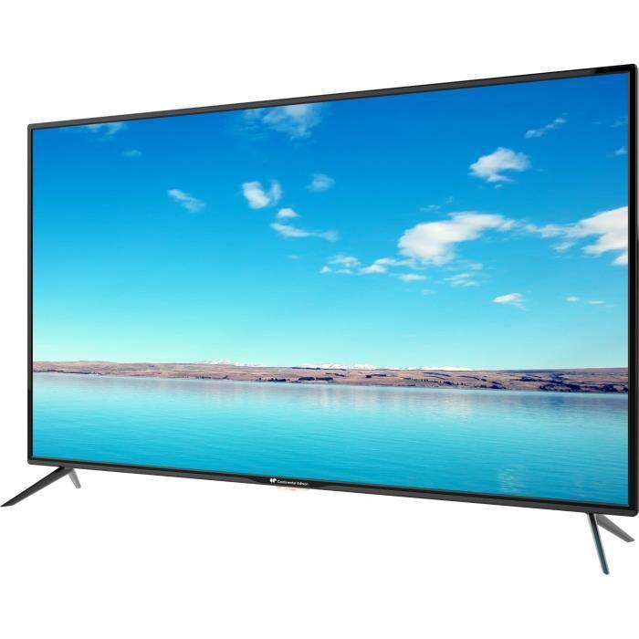 soldes la continental edison tv led 55 pouces uhd 4k est 299 euros et 285 euros pour les. Black Bedroom Furniture Sets. Home Design Ideas