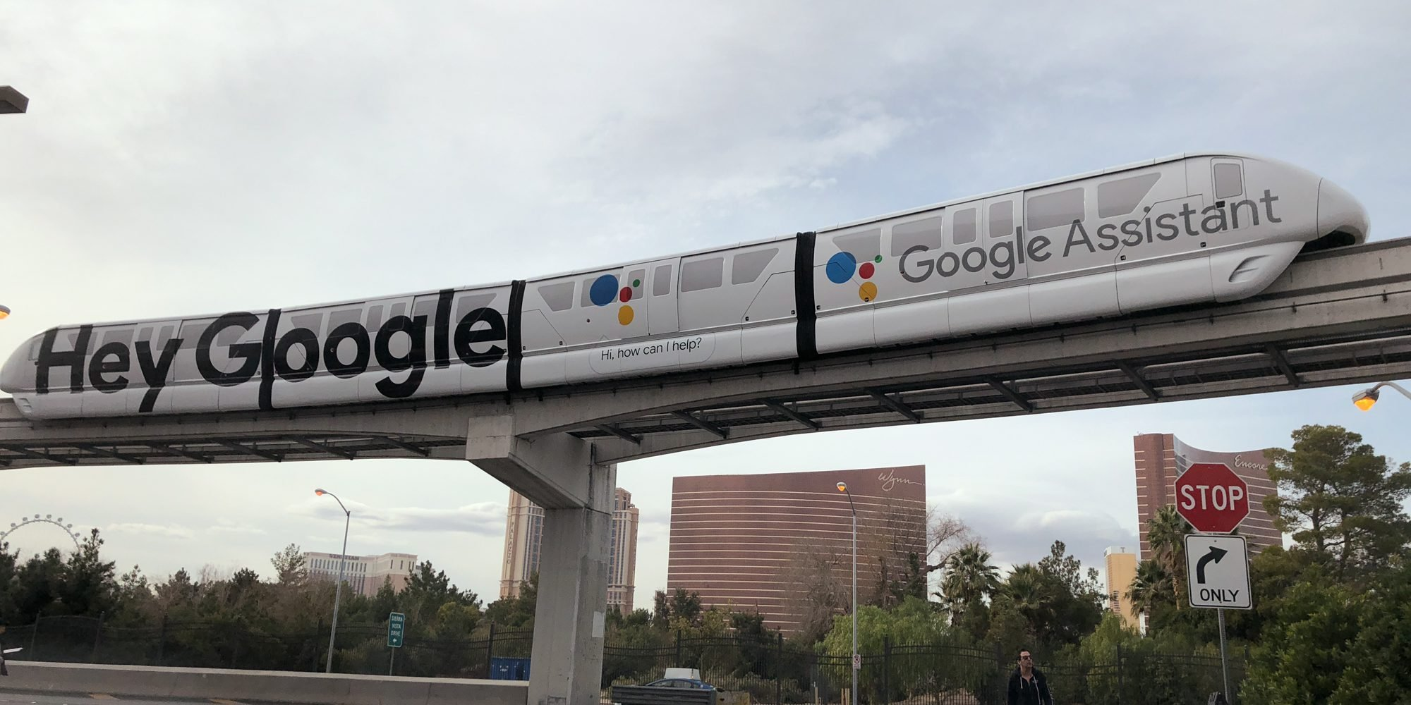 Monorail Google Assistant au CES 2018 par 9to5Google