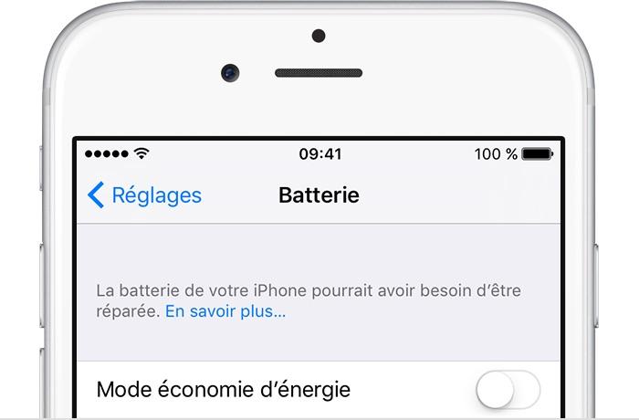 Apple change les batteries sans discuter — batterygate