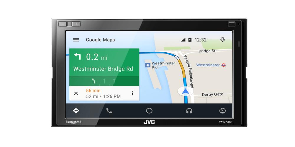 ces 2018 jvc kenwood veut connecter sans fil les anciennes voitures android auto frandroid. Black Bedroom Furniture Sets. Home Design Ideas
