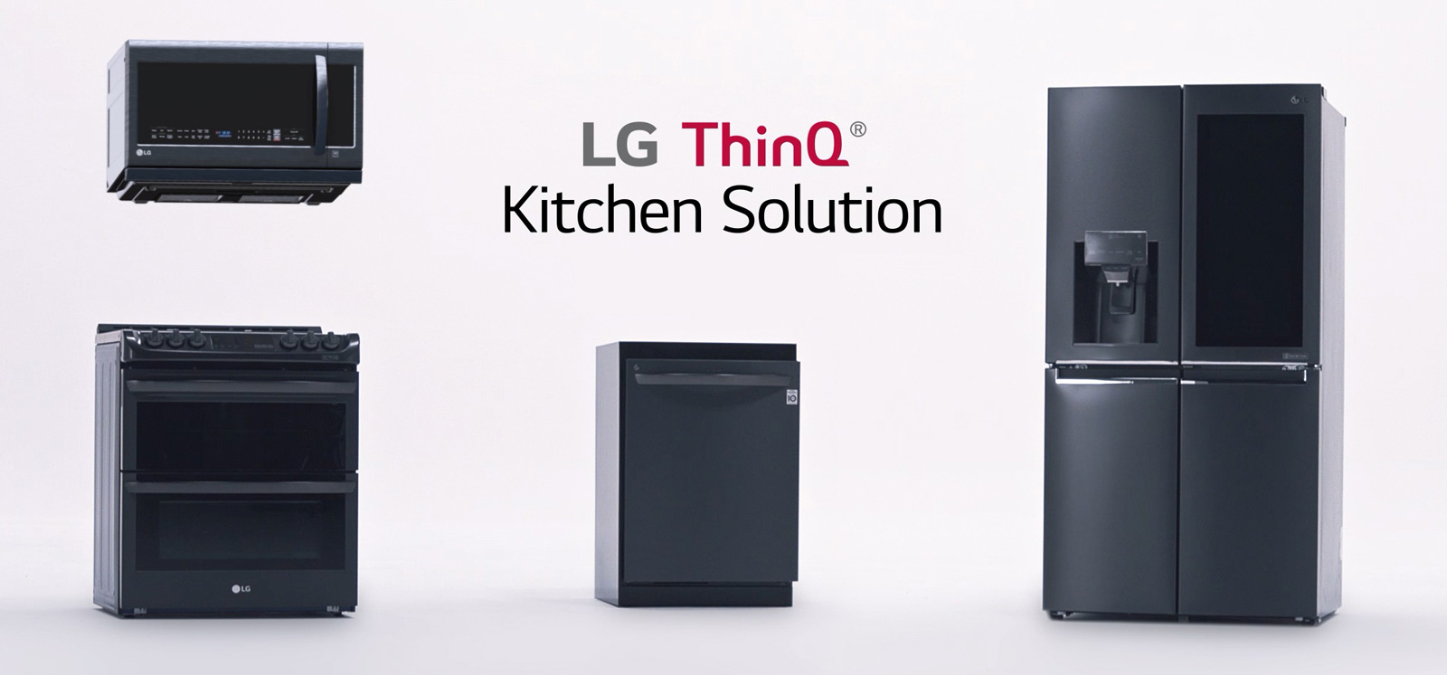 Cuisine Four Micro Onde lg thinq kitchen : alexa connecte votre cuisine, le