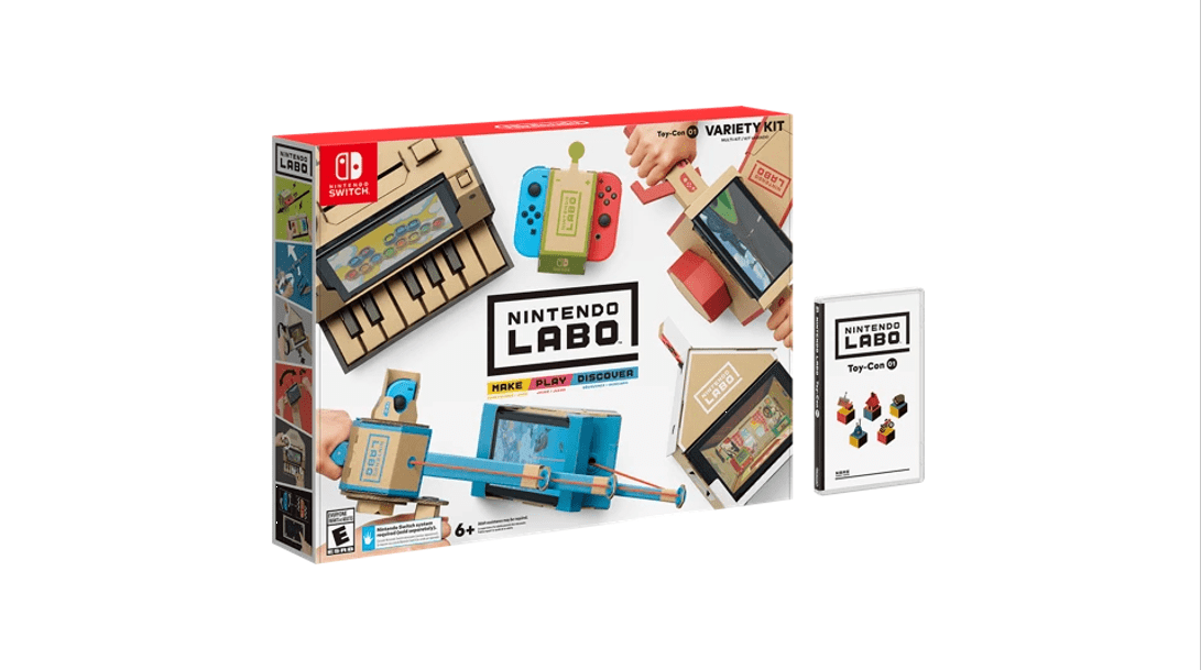nintendo labo la switch continue de nous surprendre avec du carton frandroid. Black Bedroom Furniture Sets. Home Design Ideas