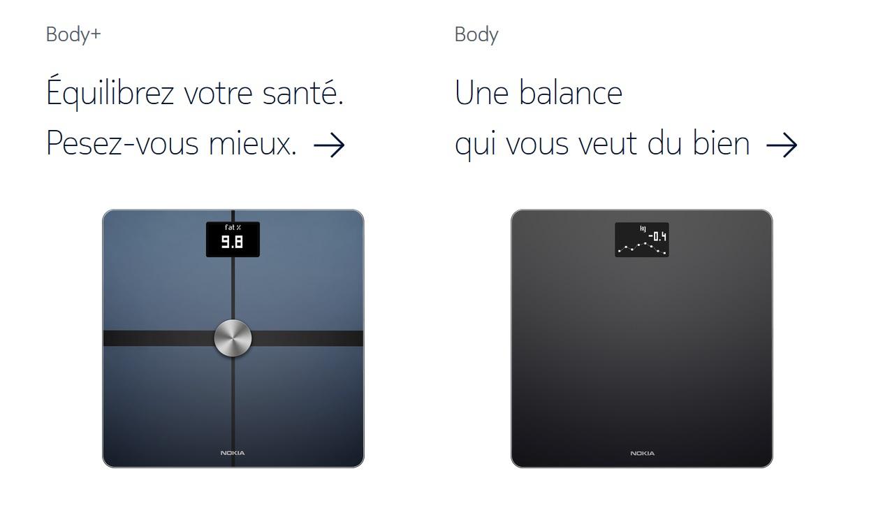 soldes les balances connect es de nokia sont en promotion partir de 48 euros frandroid. Black Bedroom Furniture Sets. Home Design Ideas