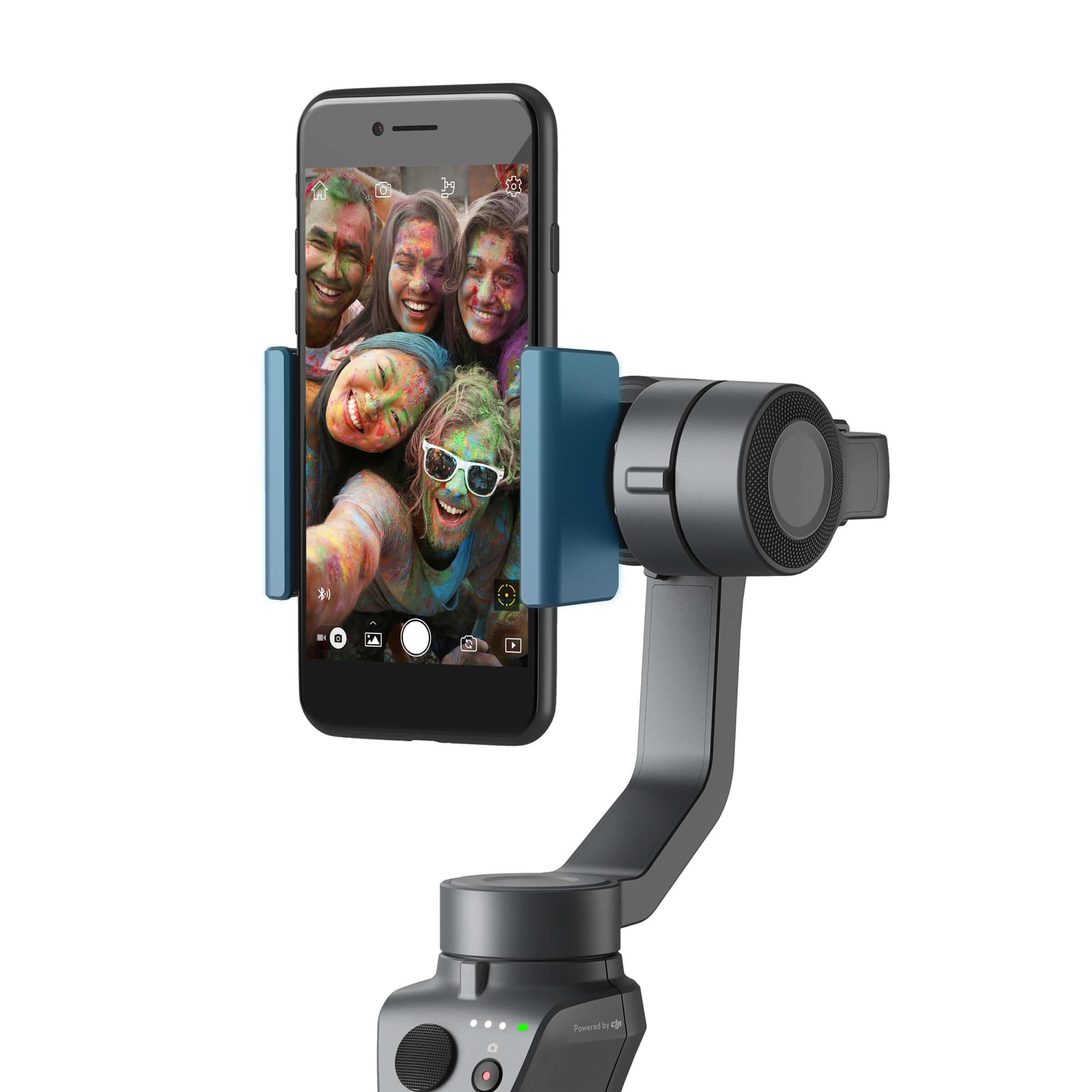 CES 2018 : Avec Osmo Mobile 2, DJI rend la stabilisation accessible