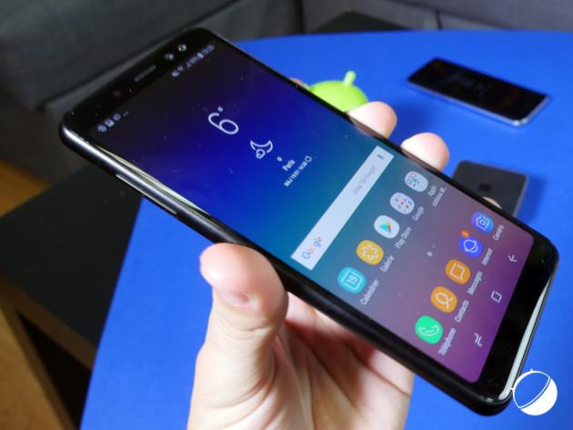 Le Samsung Galaxy A8 (2018)