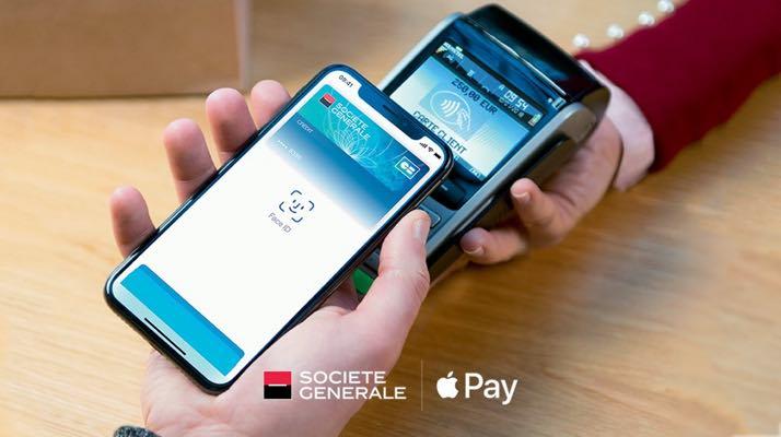 La Société Générale ajoute Apple Pay — Paiement mobile