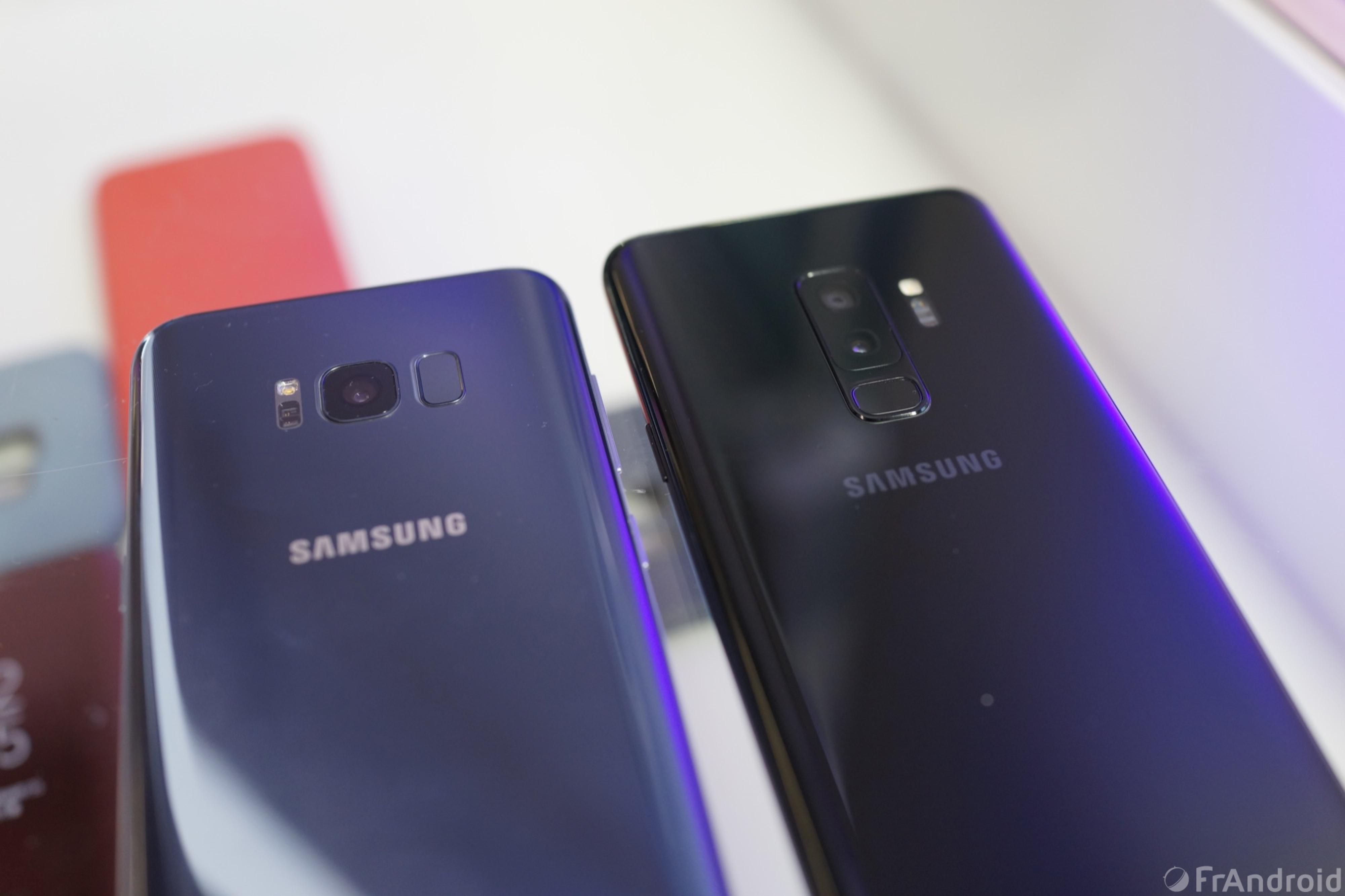 5e0c6e43a9d8d4 Samsung Galaxy S9   quelles différences avec le Galaxy S8   - FrAndroid