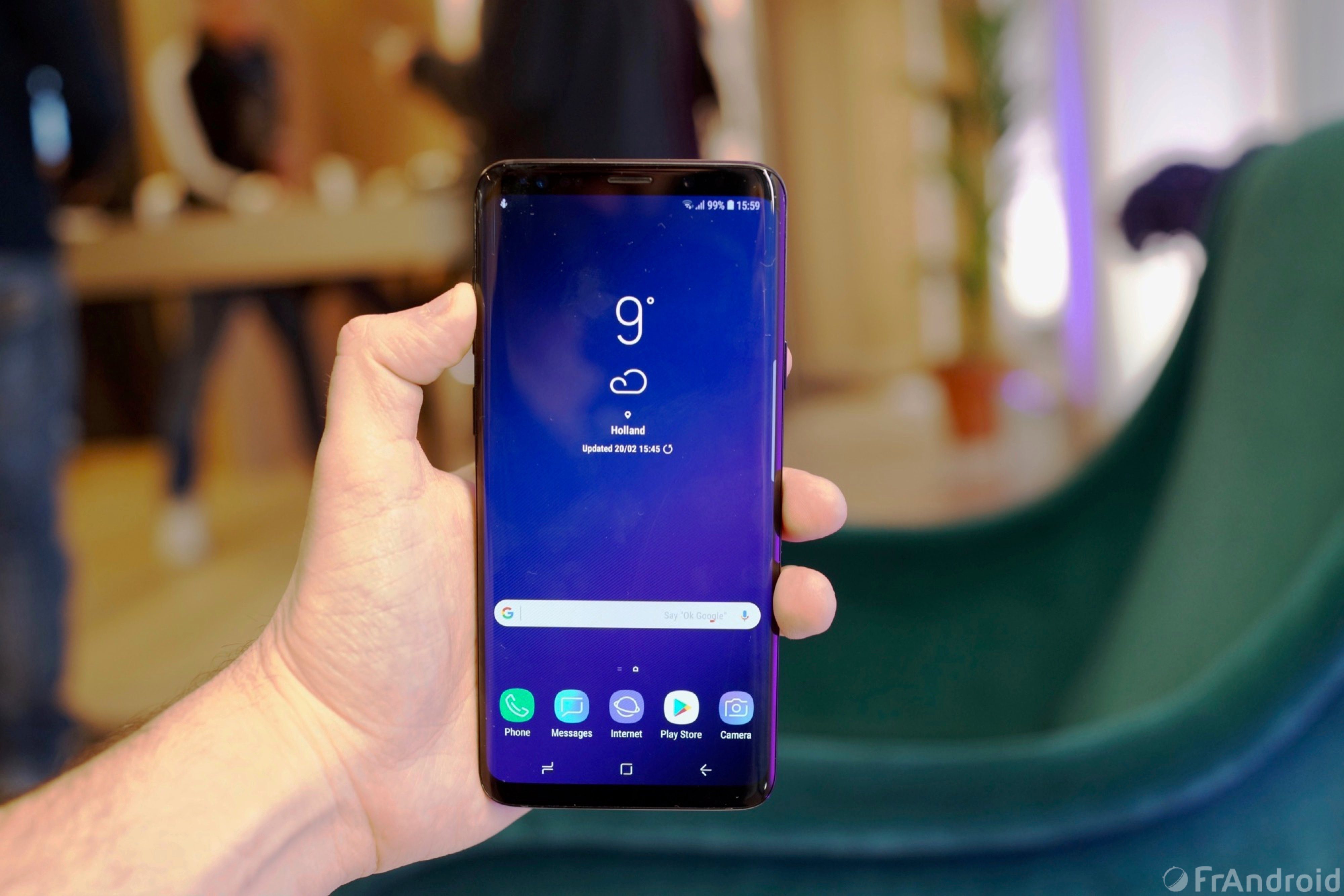 Prise en main du Samsung Galaxy S9 et du Galaxy S9+ - FrAndroid 9a513219df20