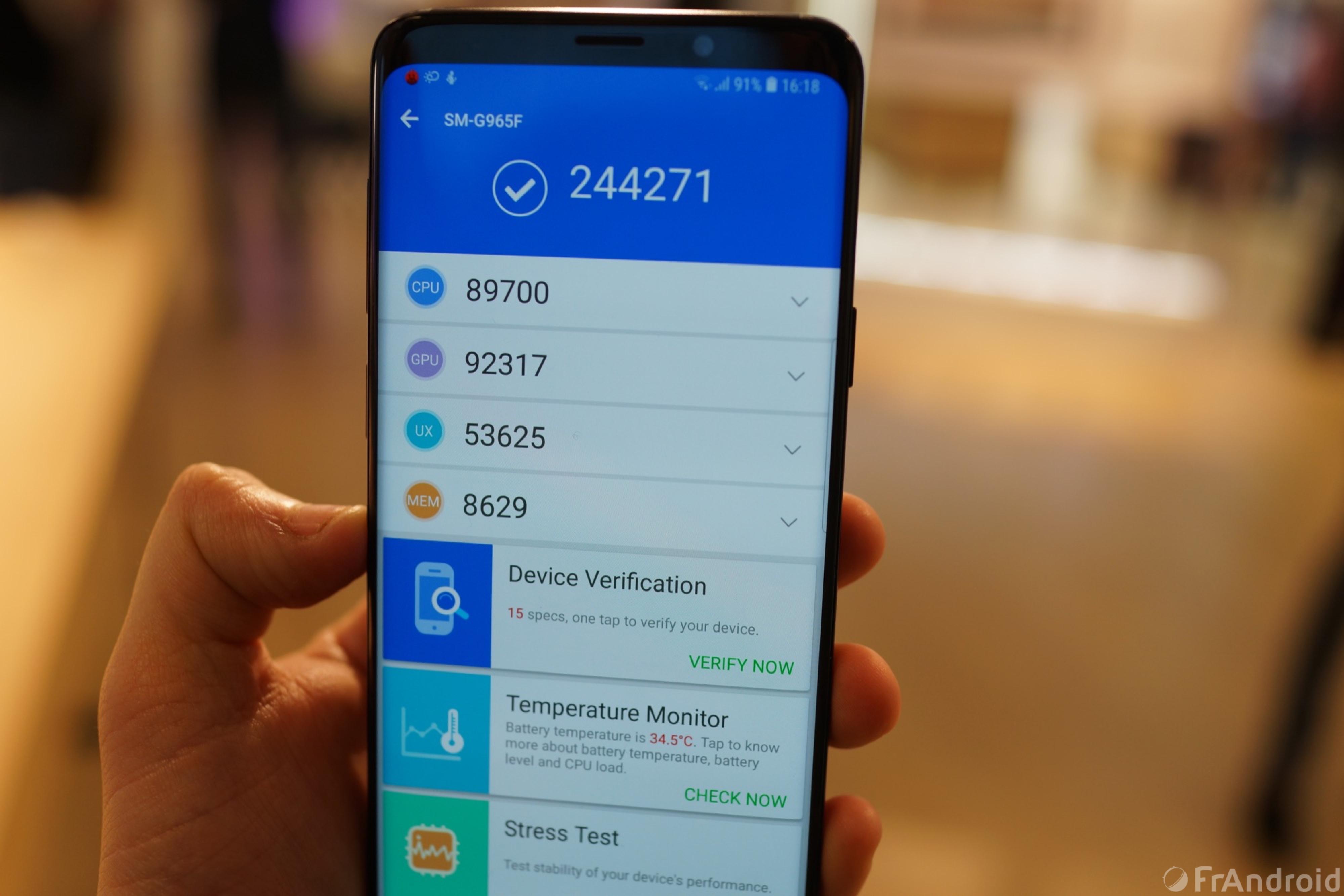 Prise En Main Du Samsung Galaxy S9 Et Du Galaxy S9 Frandroid