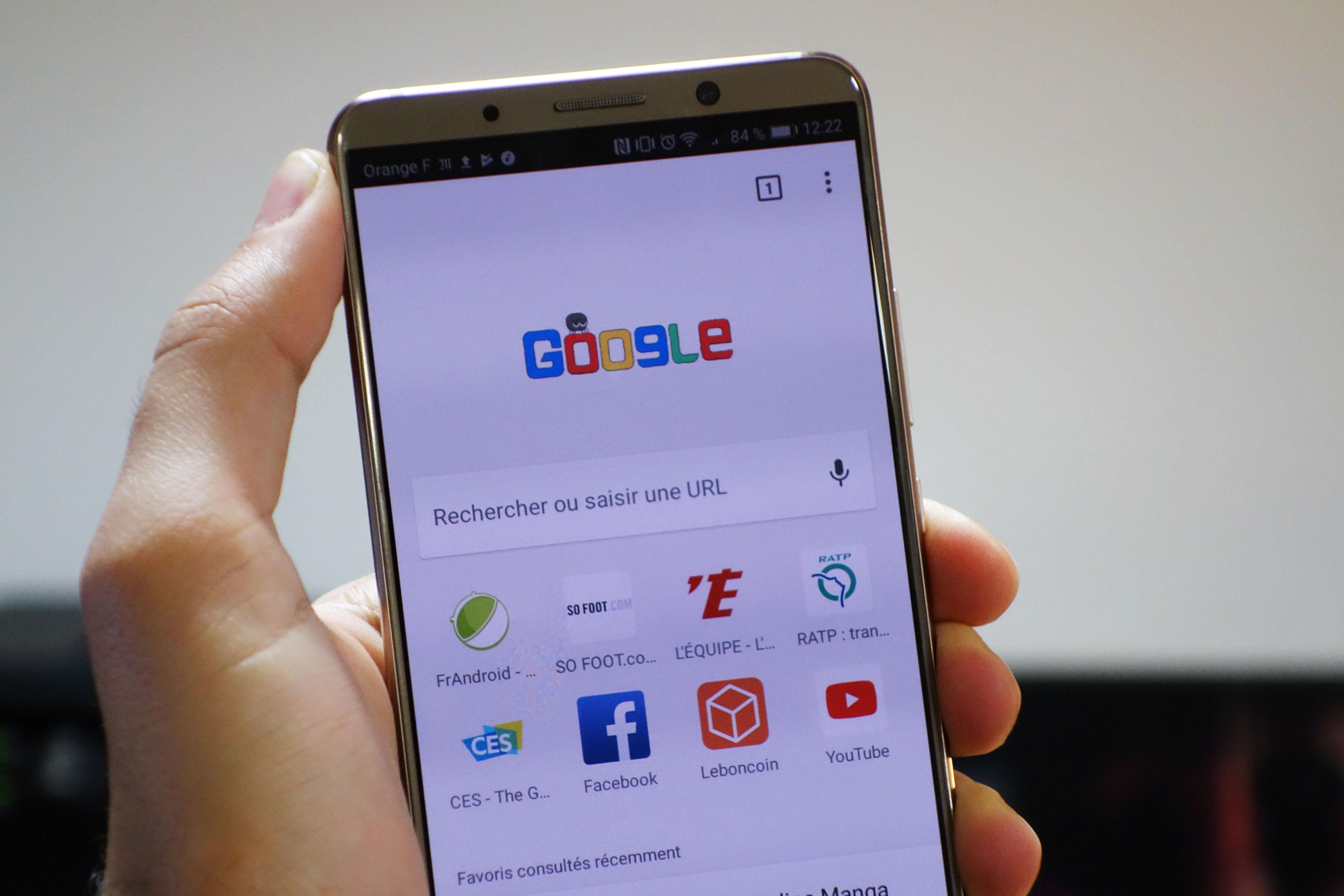 Chrome sur Android : l'affichage des onglets pourrait drastiquement changer face au 18:9