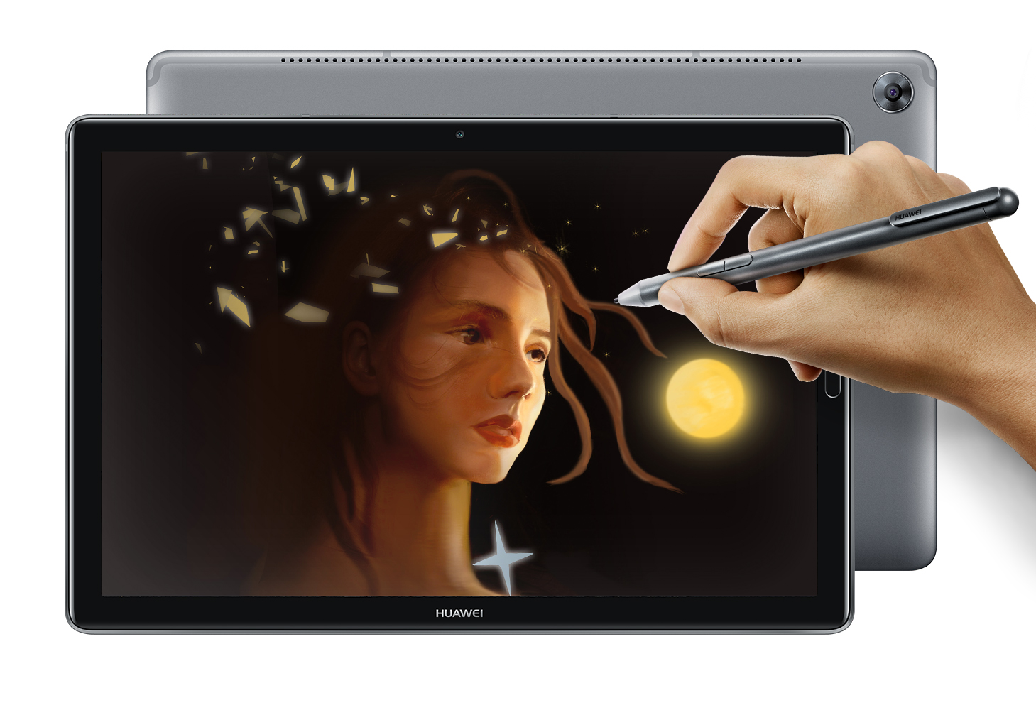 huawei mediapad m5 3 tablettes haut de gamme partir de 349 euros mwc 2018 frandroid. Black Bedroom Furniture Sets. Home Design Ideas