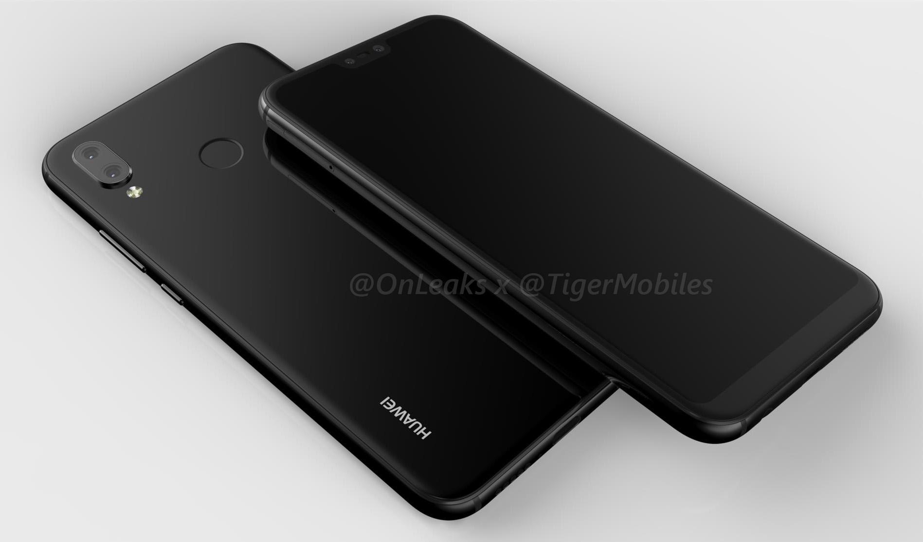 Huawei P20 Lite : son design intégrerait bien un « notch ...