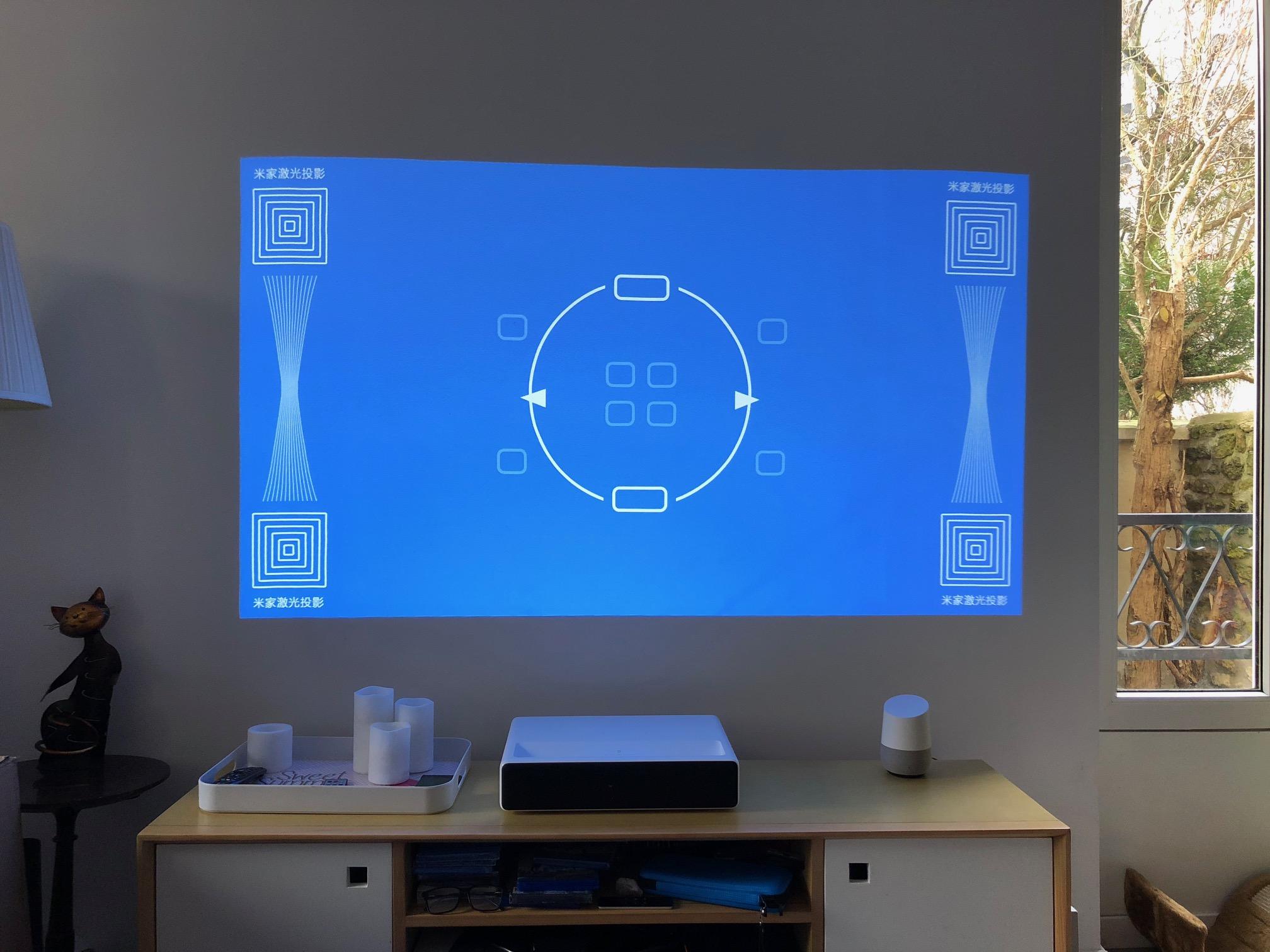 Test Du Xiaomi Mi Laser Projector Un Projecteur à Courte