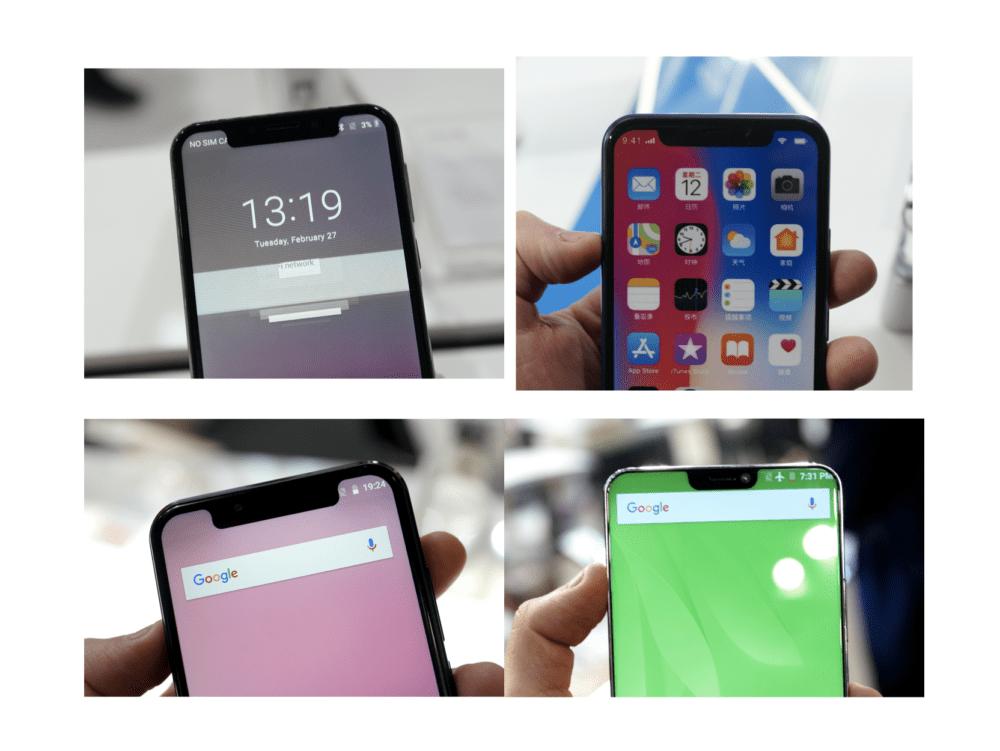IPhone X በ Android ላይ ምርጥ እና መጥፎዎችን ያነሳሳል-የእኛ ምርጫ - MWC 2018 1