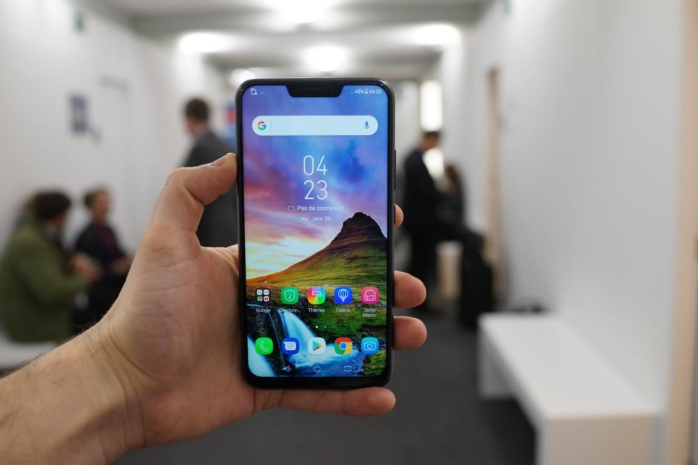 IPhone X በ Android ላይ ምርጥ እና መጥፎዎችን ያነሳሳል-የእኛ ምርጫ - MWC 2018 2