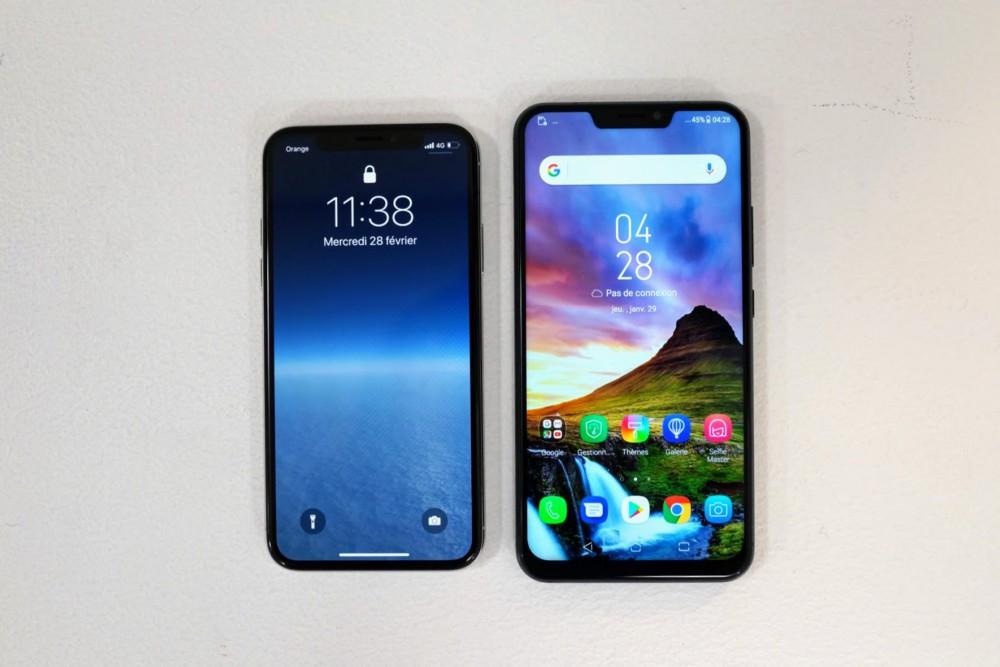 IPhone X በ Android ላይ ምርጥ እና መጥፎዎችን ያነሳሳል-የእኛ ምርጫ - MWC 2018 3