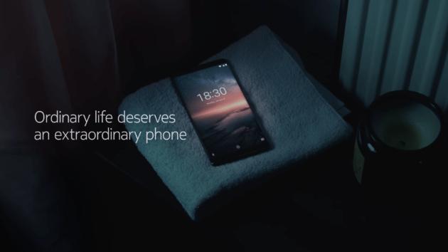 un all chant smartphone nokia avec lecteur d 39 empreintes. Black Bedroom Furniture Sets. Home Design Ideas