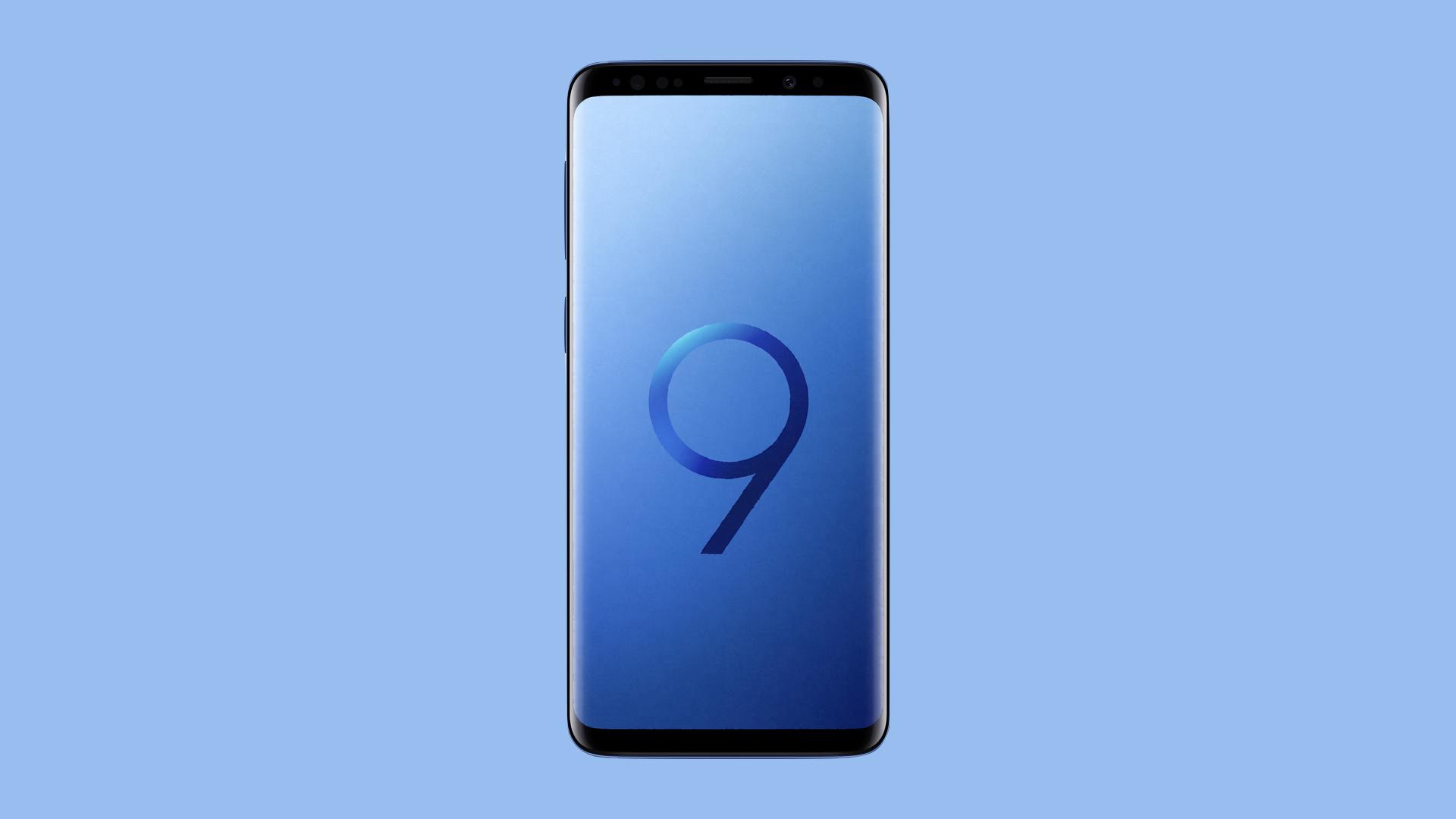 Samsung Galaxy S9 Et S9 La Mise à Jour Vers Android 9 Pie Est