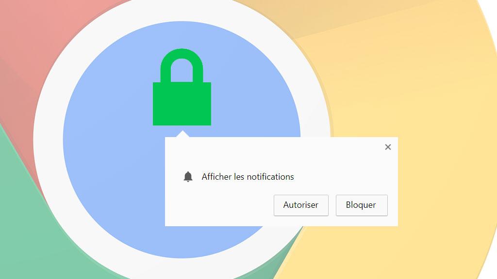 Comment d sactiver les demandes de notifications sur for Bloquer les fenetre publicitaire google chrome