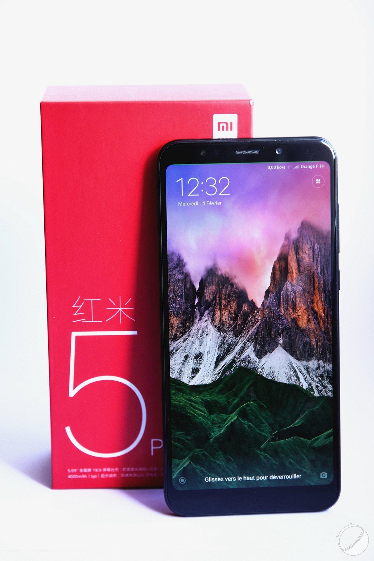 ... Go de stockage interne et de deux appareils photo de 12 et 5  mégapixels, ce Redmi Note 5 est un très bon appareil, qui nous a séduit  lors de notre test. f1e361169bfa