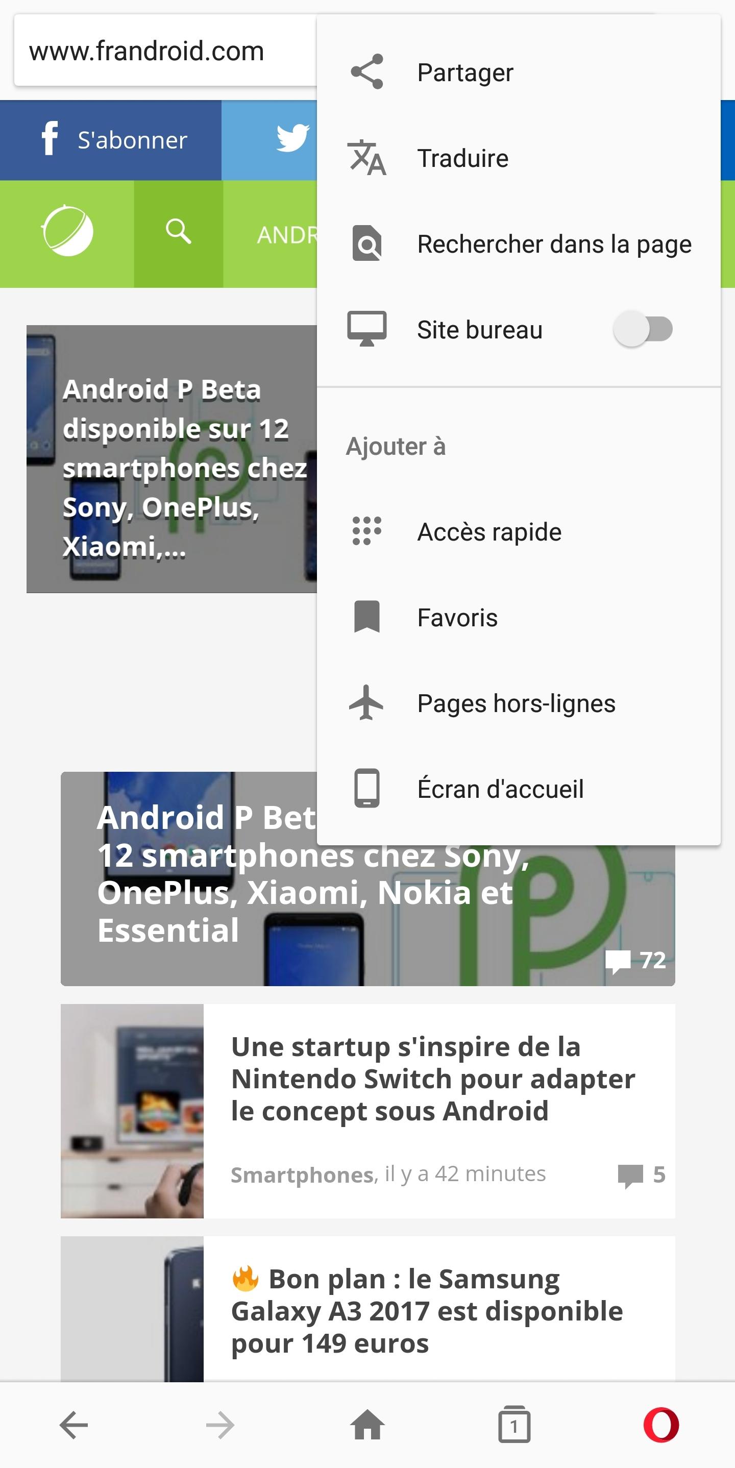 Notre sélection des meilleurs navigateurs Internet sur Android