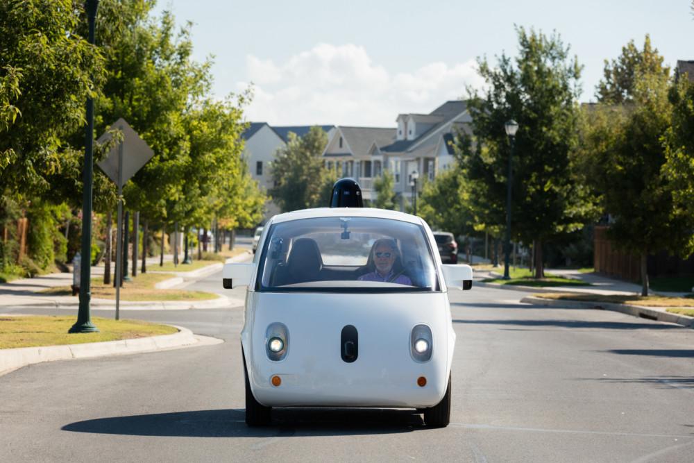 Concept de voiture autonome de Waymo