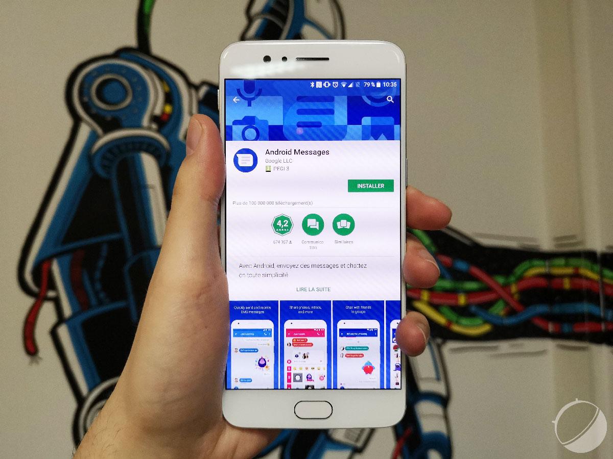 Android Messages : l'application web se rapproche pour gérer