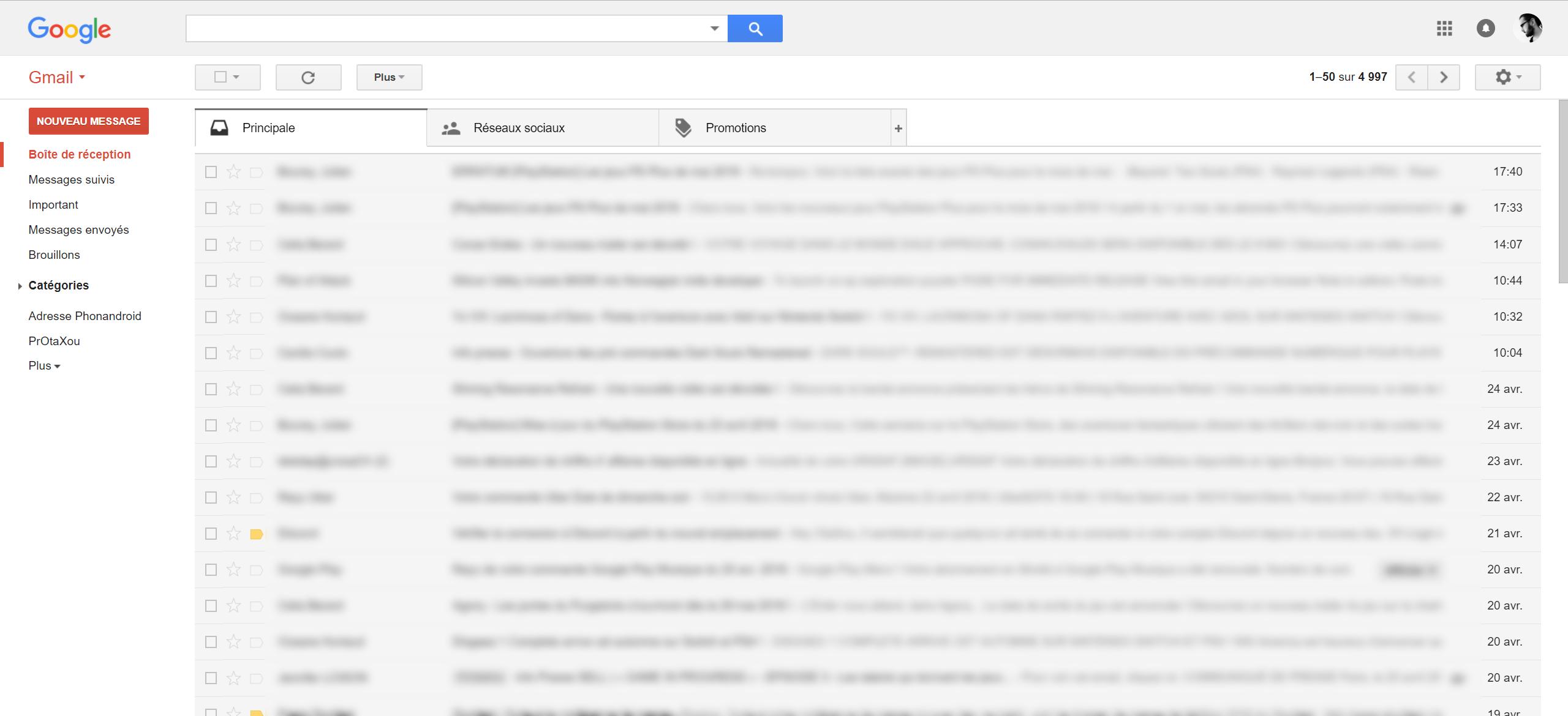 gmail   comment activer la nouvelle interface de la bo u00eete mail