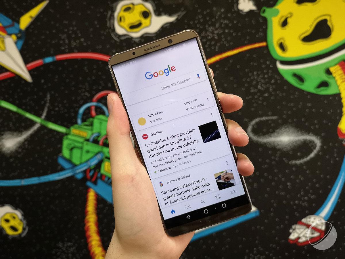 Application Google : testez les nouvelles fonctionnalités avant tout le monde
