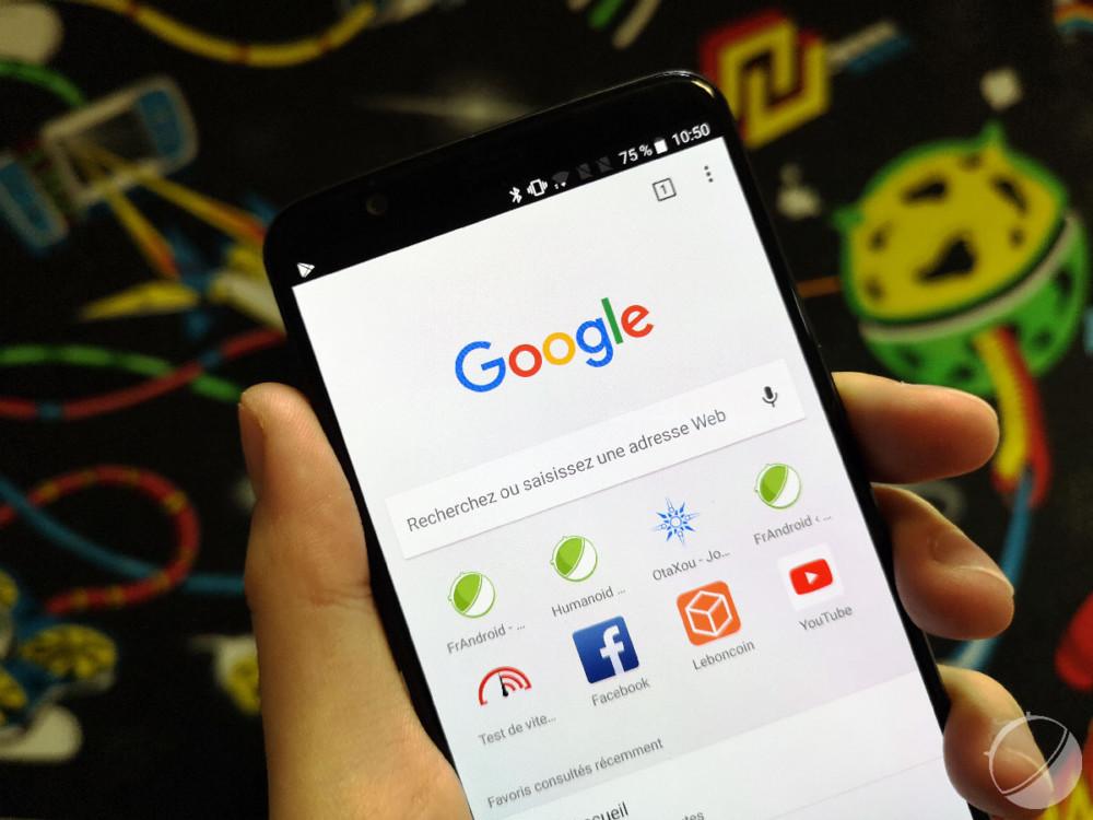 Google Chrome : le thème sombre en préparation sur Android fait ses premiers pas
