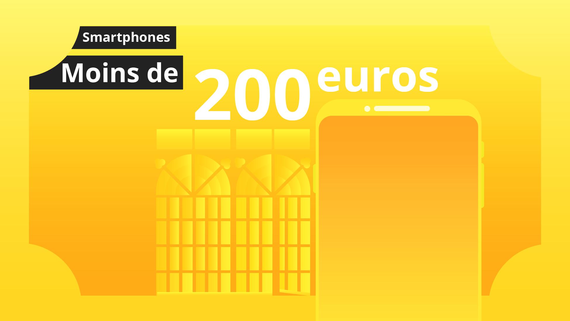 les meilleurs smartphones android moins de 200 euros guide d 39 achat. Black Bedroom Furniture Sets. Home Design Ideas