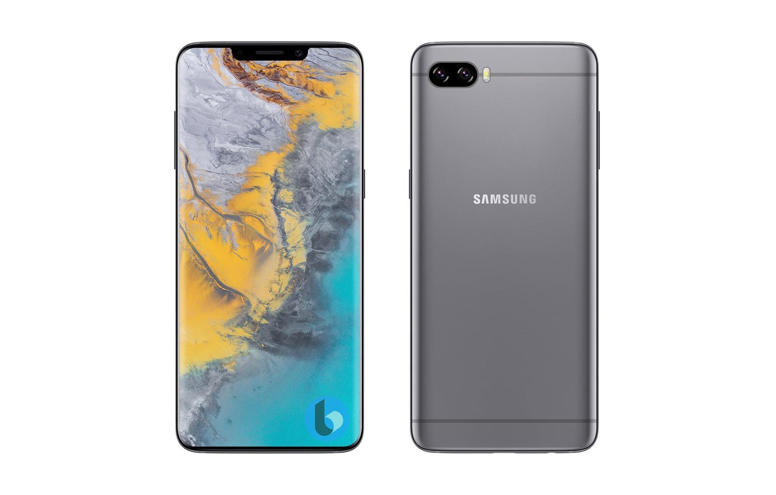 Samsung Galaxy S10 : un artiste l'imagine avec une encoche ...