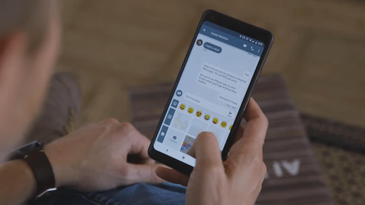La réponse d'Android aux iMessages d'Apple — Chat