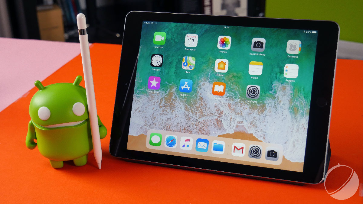 test apple ipad 2018 notre avis complet tablettes. Black Bedroom Furniture Sets. Home Design Ideas