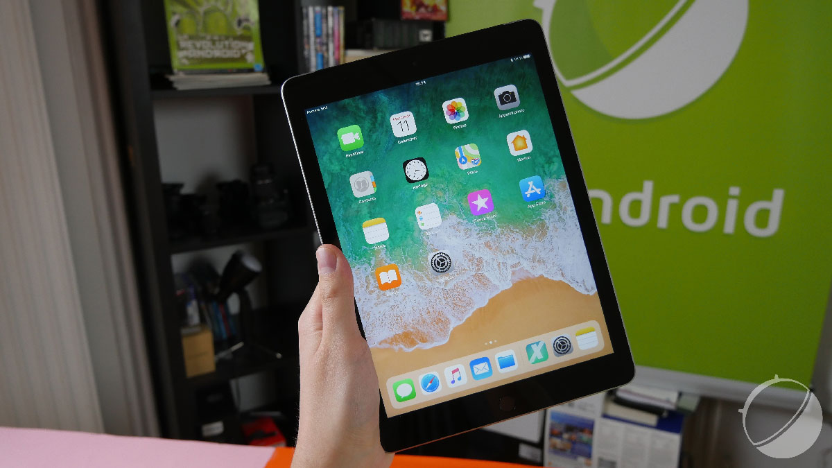 test apple ipad 2018 notre avis complet tablettes tactiles frandroid. Black Bedroom Furniture Sets. Home Design Ideas