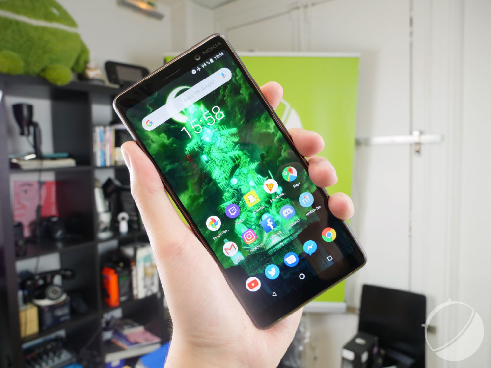 Le Nokia 7 Plus sous Android One