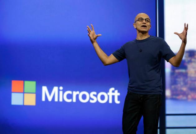 Satya Nadella, actuel CEO de Microsoft