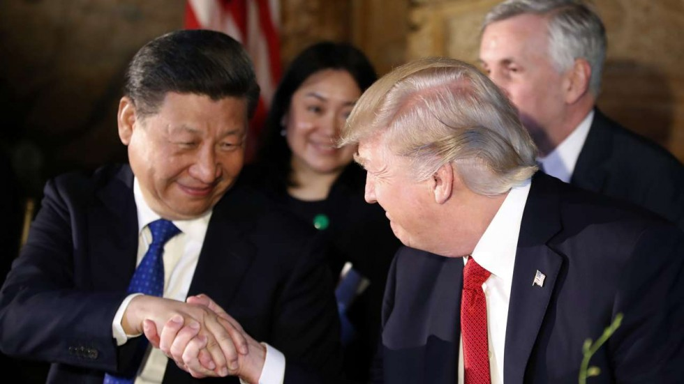 Donald Trump (USA) et Xi Jinping (Chine)
