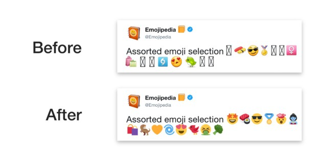 Source de l'image : Emojipedia
