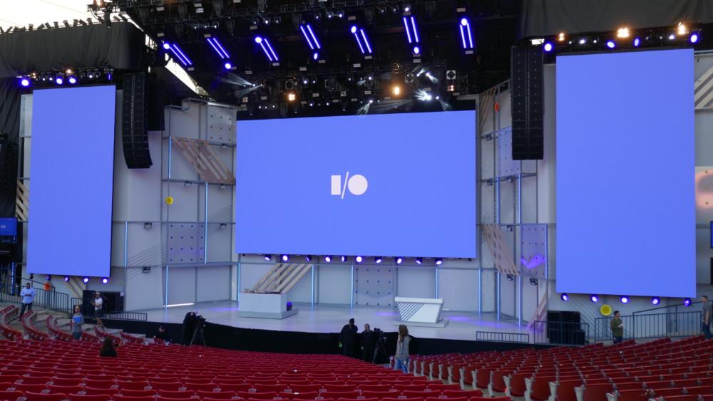 Amphithéâtre de la Google I/O 2018
